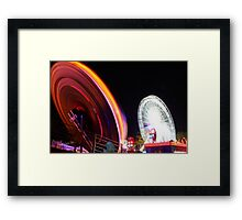 Loughborough Fair Framed Print