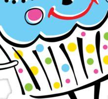 Cupcake Love Sticker
