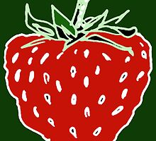 Ripe Strawberry by Betty Mackey