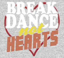 Break Dance Not Hearts Retro Vintage  One Piece - Long Sleeve