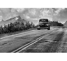 On the road Photographic Print
