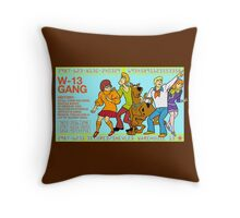 Warehouse 13 / Scooby Gang Throw Pillow