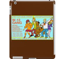 Warehouse 13 / Scooby Gang iPad Case/Skin