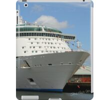 Independence of the Seas docked in Southampton iPad Case/Skin