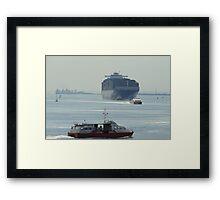 Southampton Water Framed Print