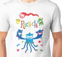 Recycle Monsters   Unisex T-Shirt