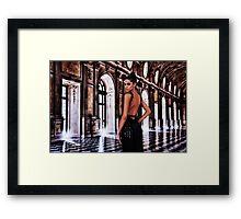 High Fashion Ballroom Fine Art Print Framed Print