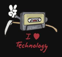 I LOVE TECHNOLOGY by margottina