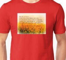 LOve in many languages Unisex T-Shirt