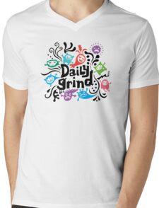 Daily Grind  Mens V-Neck T-Shirt