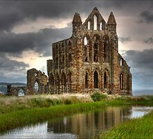Whtiby abbey , north yorks, UK by G-73
