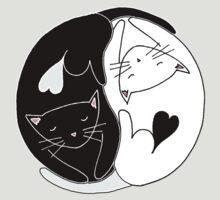 Yin Yang Cats by RedPandonite