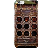 Old Wine Box Fine Art Print iPhone Case/Skin