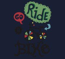 Go Ride a Bike   One Piece - Long Sleeve