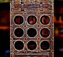 Old Wine Box Fine Art Print by stockfineart