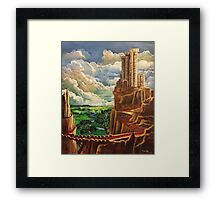 Where The Red Brick Road Really Leads Framed Print