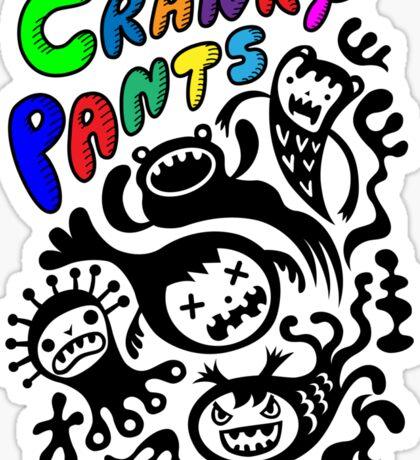 Cranky Pants   Sticker