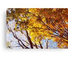 Flaming Trees / Canvas Print