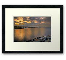 Bay Bridge at Sunrise Framed Print
