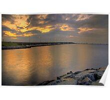 Bay Bridge at Sunrise Poster