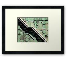 Stairway At Maui Harbour Framed Print