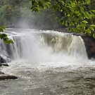 Cumberland Falls Close-up by Sandy Keeton