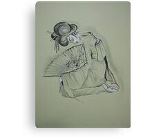 'Aiko'  The little loved one Canvas Print