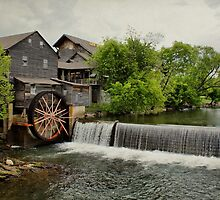 Old Mill by Sandy Keeton