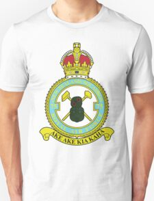 75(NZ) Squadron RAF Full Colour crest T-Shirt