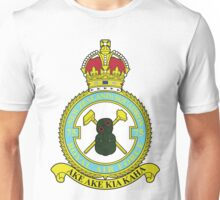 75(NZ) Squadron RAF Full Colour crest Unisex T-Shirt