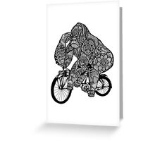 King Kong Love Music Greeting Card