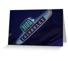 3100 Chevrolet Greeting Card