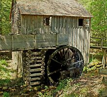 Grist Mill by Sandy Keeton