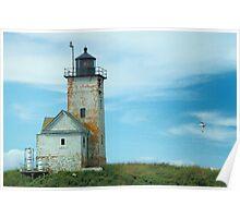 Two Bush Island Light, Spruce Head, Maine. Poster