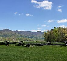 Cades Cove View by Sandy Keeton