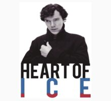 BBC Sherlock - Heart of Ice One Piece - Short Sleeve