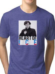 BBC Sherlock - Heart of Ice Tri-blend T-Shirt