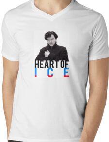 BBC Sherlock - Heart of Ice Mens V-Neck T-Shirt