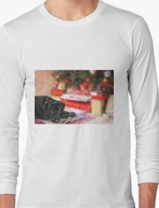Waiting for Santa...... Long Sleeve T-Shirt