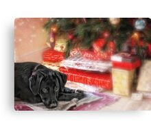 Waiting for Santa...... Canvas Print