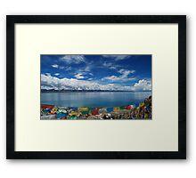 Nam Lake Framed Print
