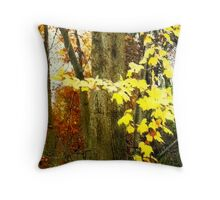 Lone Tree / Autumn in Michigan Throw Pillow