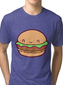 Cute Burger Tri-blend T-Shirt