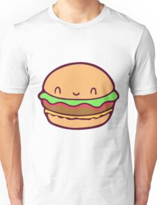 Cute Burger Unisex T-Shirt