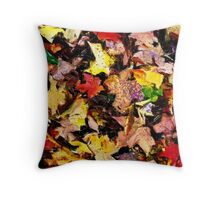 Autumn Pattern  /   Throw Pillow