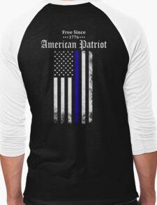 Free Since 1776 - American Patriot Men's Baseball ¾ T-Shirt