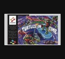 Teenage Mutant Ninja Turtles Super Nintendo NES Box cover  by ruter