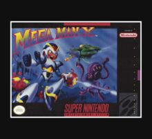 Megaman X Super Nintendo NES Box cover  by ruter