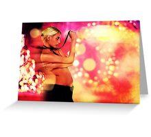 Fashion Motion Fine Art Print Greeting Card