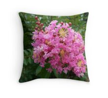 Pinksplosion Throw Pillow